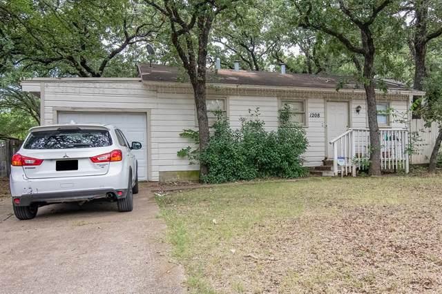 1208 Glenda Drive, Bedford, TX 76022 (MLS #14634615) :: Real Estate By Design