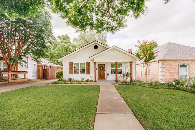 4829 El Campo Avenue, Fort Worth, TX 76107 (MLS #14634885) :: Real Estate By Design