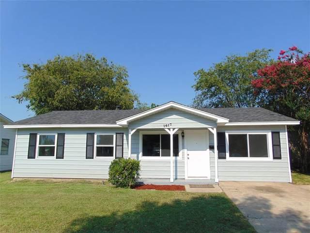 1617 Cumberland Drive, Garland, TX 75040 (MLS #14634899) :: The Rhodes Team