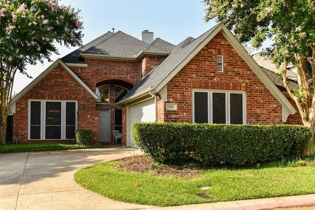 106 Arbor Park Drive, Euless, TX 76039 (MLS #14634908) :: EXIT Realty Elite