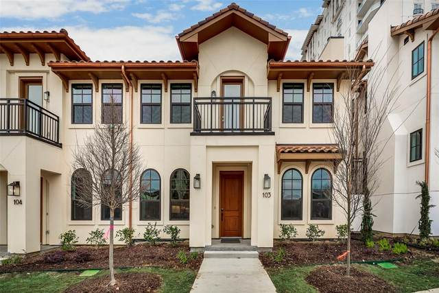 2800 Lakeside Parkway #103, Flower Mound, TX 75022 (MLS #14635237) :: The Good Home Team