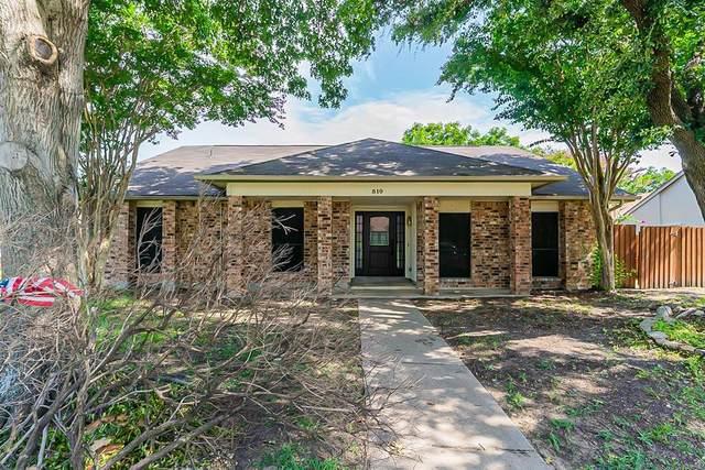510 Redwood Drive, Grand Prairie, TX 75052 (MLS #14635349) :: Real Estate By Design