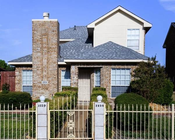 2839 Meadow Way Lane, Dallas, TX 75228 (MLS #14635459) :: The Mauelshagen Group