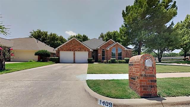 1409 Lionheart Court, Flower Mound, TX 75028 (MLS #14635775) :: The Krissy Mireles Team