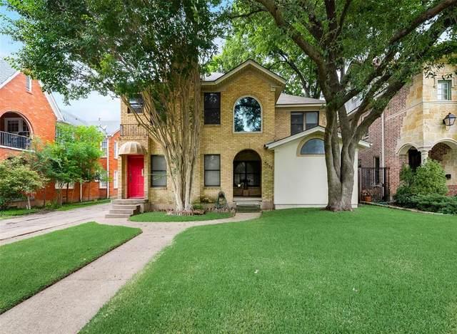 3532 Asbury Street, University Park, TX 75205 (MLS #14635958) :: ACR- ANN CARR REALTORS®