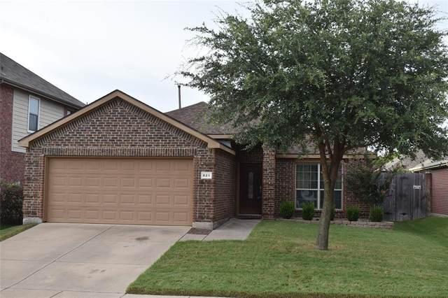 821 Lake Worth Trail, Little Elm, TX 75068 (MLS #14636008) :: The Mauelshagen Group
