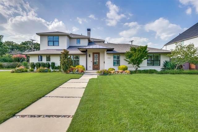7507 Midbury Drive, Dallas, TX 75230 (MLS #14636122) :: NewHomePrograms.com