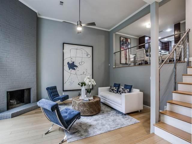 3515 Brown Street #121, Dallas, TX 75219 (MLS #14636135) :: The Hornburg Real Estate Group