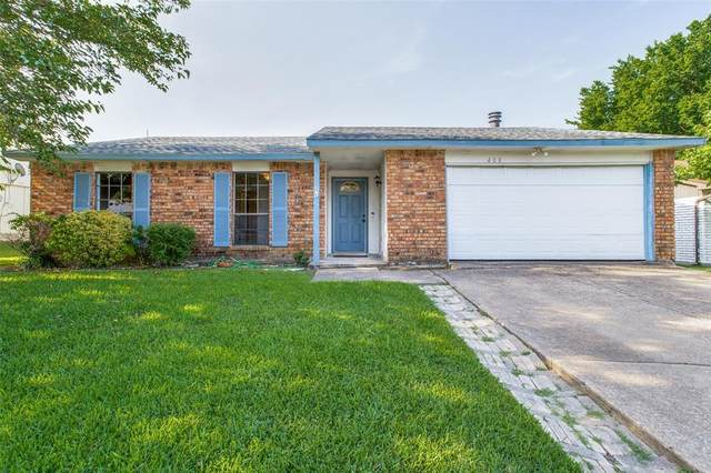 408 Rockcrest Drive, Mesquite, TX 75150 (MLS #14636150) :: Real Estate By Design