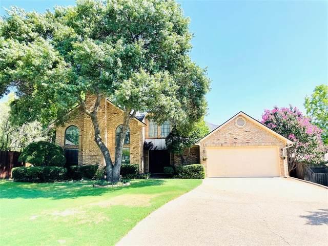 7604 Quail Ridge Court, Fort Worth, TX 76132 (MLS #14636173) :: The Star Team | Rogers Healy and Associates
