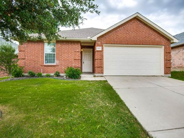 1428 Waterford Drive, Little Elm, TX 75068 (MLS #14636202) :: Team Tiller