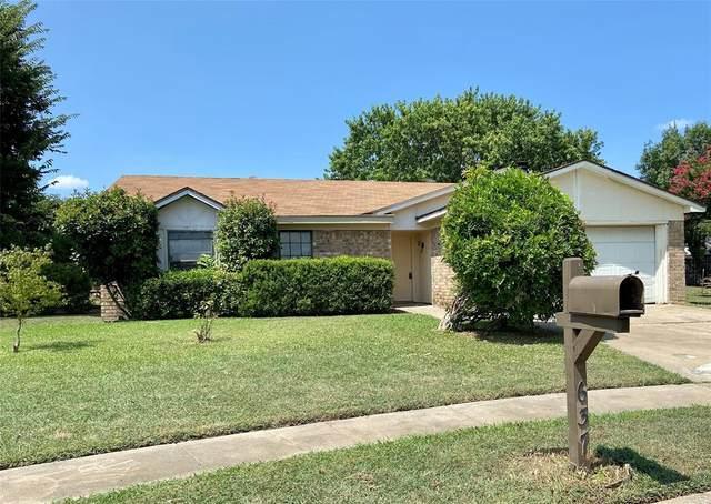 637 Normandy Lane, Saginaw, TX 76179 (MLS #14636237) :: EXIT Realty Elite