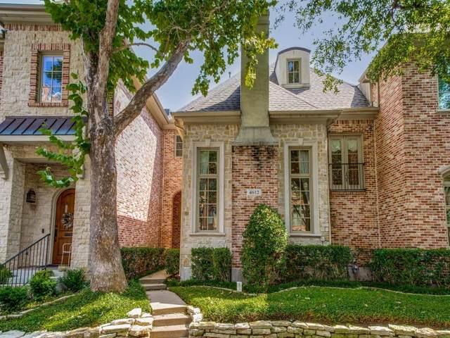 4612 Gilbert Avenue, Dallas, TX 75219 (MLS #14636280) :: Front Real Estate Co.