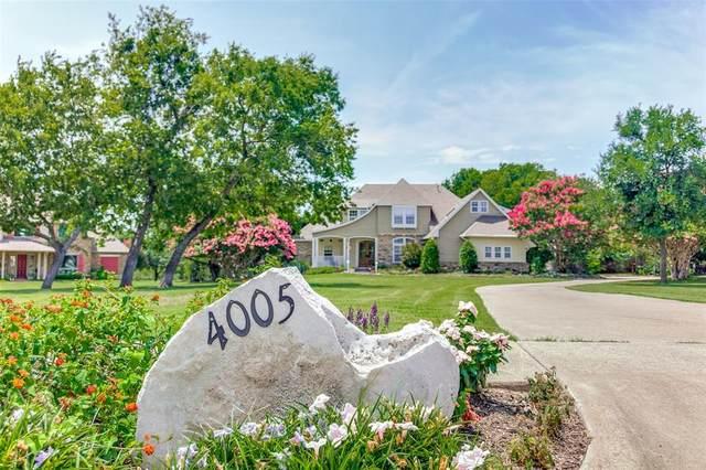 4005 Rosebud Drive, Rowlett, TX 75089 (MLS #14636309) :: Real Estate By Design