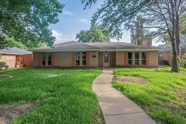711 Pebblebrook Drive, Allen, TX 75002 (MLS #14636343) :: The Hornburg Real Estate Group