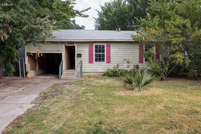 4304 Lisbon Street, Fort Worth, TX 76107 (MLS #14636353) :: Real Estate By Design
