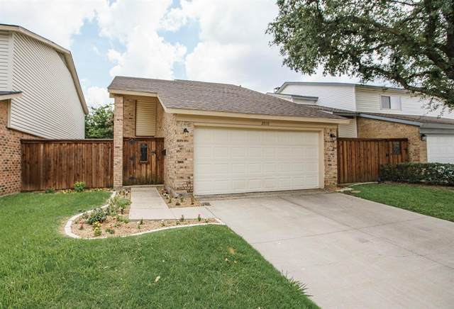 2010 Via Miramonte, Carrollton, TX 75006 (MLS #14636404) :: The Good Home Team