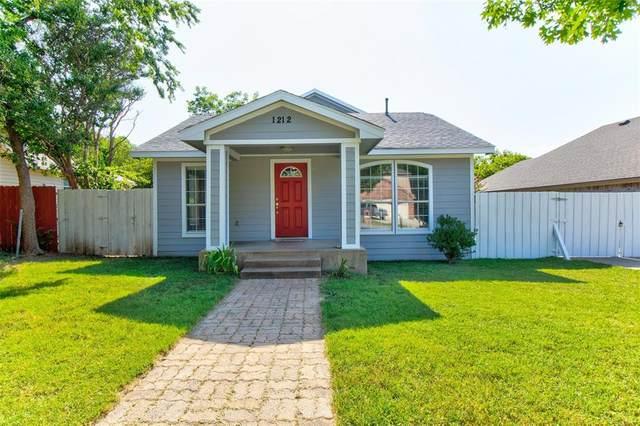 1212 Cambridge Street, River Oaks, TX 76114 (MLS #14636489) :: Real Estate By Design