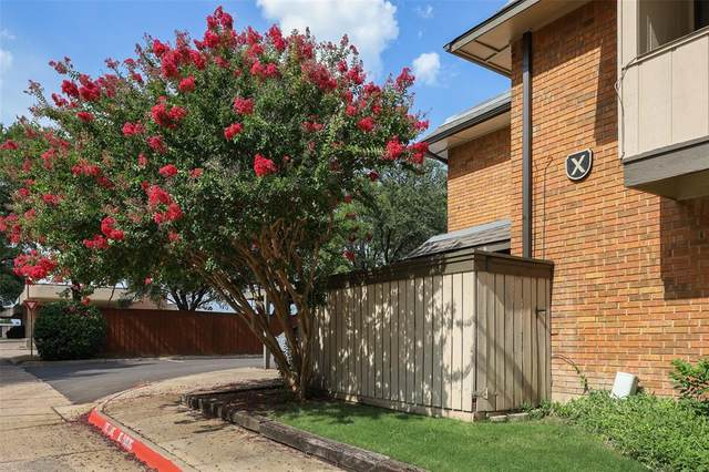 2800 Escada Drive #102, Farmers Branch, TX 75234 (MLS #14636646) :: The Chad Smith Team