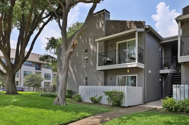6005 Danbury Lane #103, Dallas, TX 75206 (MLS #14636832) :: Real Estate By Design