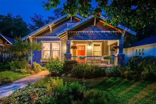 730 N Montclair Avenue, Dallas, TX 75208 (MLS #14636858) :: Real Estate By Design