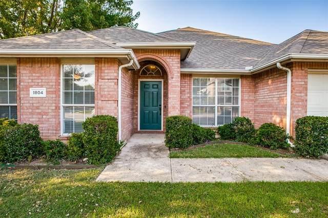 1804 Buena Vista Lane, Denton, TX 76210 (MLS #14636872) :: The Chad Smith Team