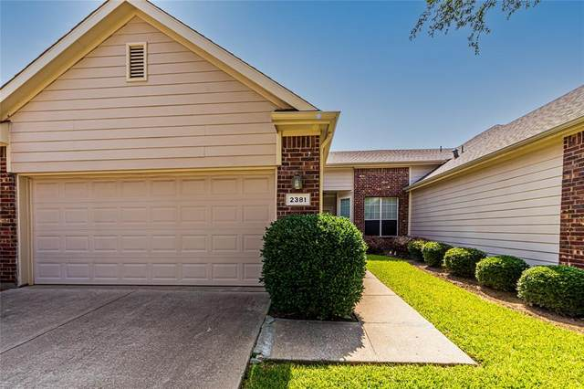 2381 San Jacinto Road, Lewisville, TX 75067 (MLS #14636996) :: The Chad Smith Team