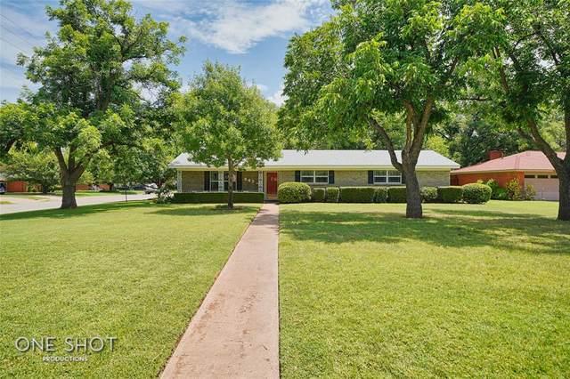 843 Marsalis Drive, Abilene, TX 79603 (MLS #14637027) :: Real Estate By Design