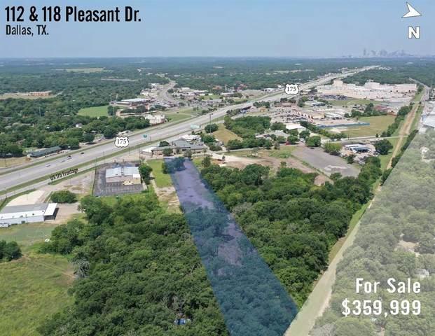 112 Pleasant Drive, Dallas, TX 75217 (MLS #14637072) :: The Hornburg Real Estate Group