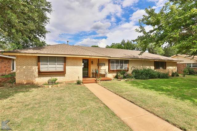 865 Green Valley Drive, Abilene, TX 79601 (MLS #14637281) :: Real Estate By Design