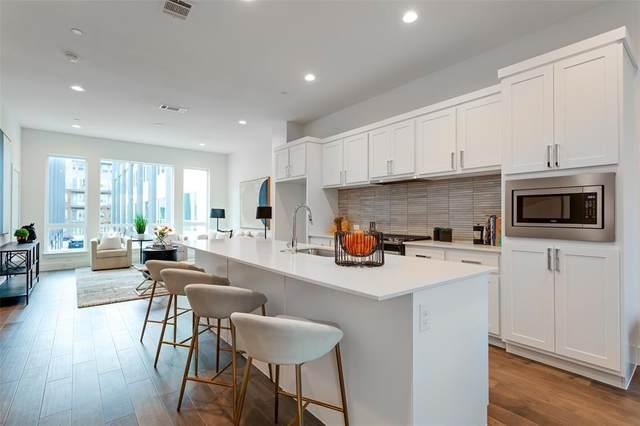 1771 Mccoy Street #105, Dallas, TX 75204 (MLS #14637327) :: Real Estate By Design