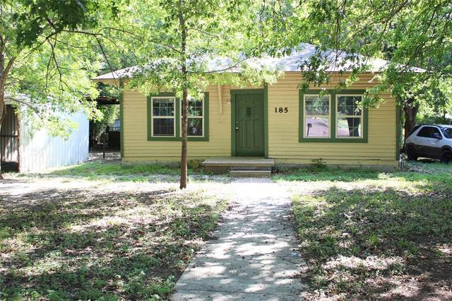 185 S Devine Street, Stephenville, TX 76401 (MLS #14637393) :: All Cities USA Realty