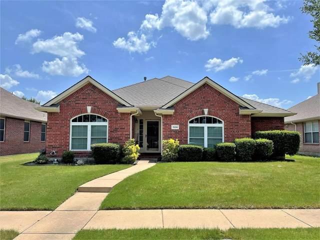 1534 Oakmont Drive, Allen, TX 75002 (MLS #14637404) :: Real Estate By Design