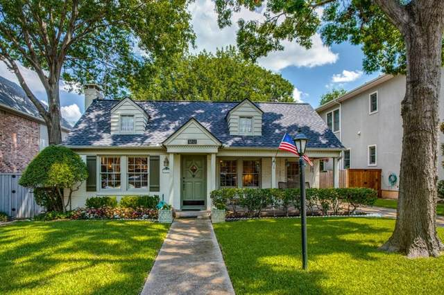 3212 Westminster Avenue, University Park, TX 75205 (MLS #14637422) :: The Chad Smith Team