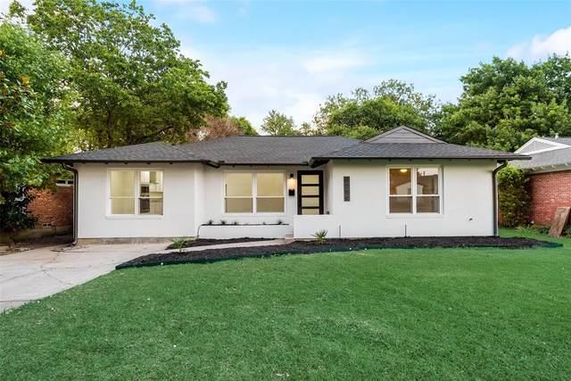 6259 Ravendale Lane, Dallas, TX 75214 (MLS #14637450) :: Real Estate By Design