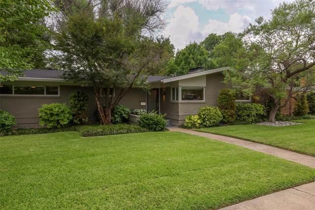 6631 Ridgemont Drive, Dallas, TX 75214 (MLS #14637504) :: NewHomePrograms.com