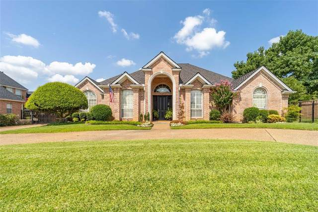 4906 Queensbury Way E, Colleyville, TX 76034 (MLS #14637552) :: Real Estate By Design