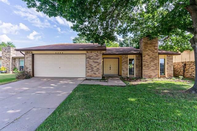 4309 Campion Lane, Fort Worth, TX 76137 (MLS #14637585) :: Real Estate By Design