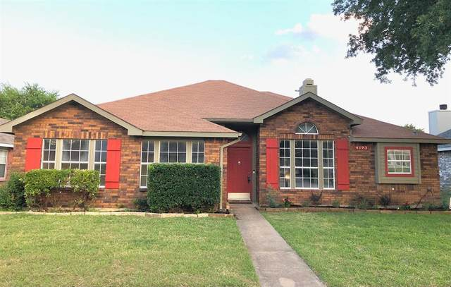 4193 Fryer Street, The Colony, TX 75057 (MLS #14638031) :: Wood Real Estate Group