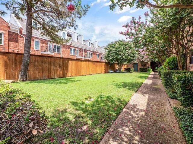 4030 Rawlins Street F, Dallas, TX 75219 (MLS #14638126) :: Front Real Estate Co.