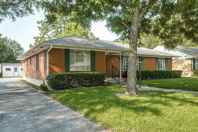 6232 Crestmont Drive, Dallas, TX 75214 (MLS #14638219) :: Real Estate By Design