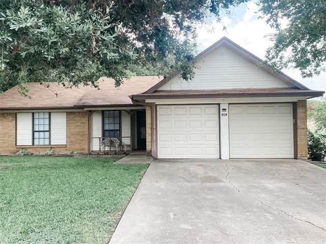 404 Daniels Drive, Crowley, TX 76036 (MLS #14638287) :: EXIT Realty Elite