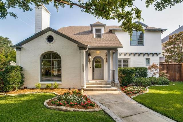 4436 Stanhope Street, University Park, TX 75205 (MLS #14638293) :: The Chad Smith Team