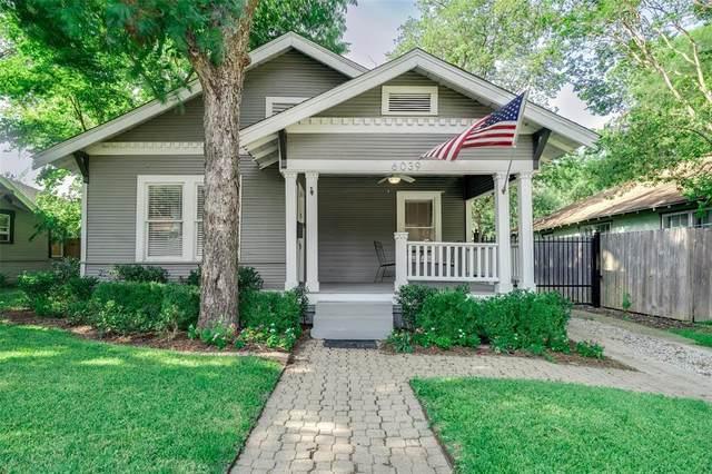 6039 Velasco Avenue, Dallas, TX 75206 (MLS #14638485) :: Real Estate By Design