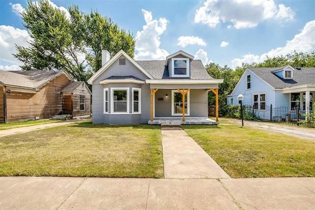 2114 Roosevelt Avenue, Fort Worth, TX 76164 (MLS #14638803) :: Front Real Estate Co.