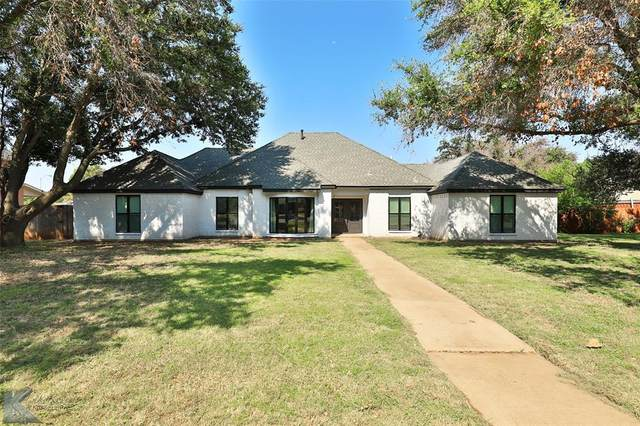 1210 Canterbury Drive, Abilene, TX 79602 (MLS #14638929) :: All Cities USA Realty