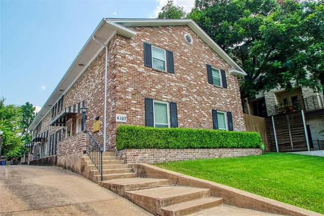 4107 Newton Avenue #3, Dallas, TX 75219 (MLS #14638938) :: Robbins Real Estate Group