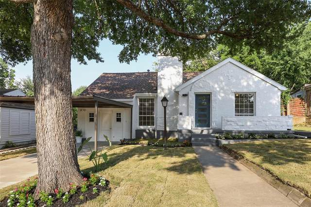 1412 Arborvitae Avenue, Dallas, TX 75224 (MLS #14639014) :: Real Estate By Design