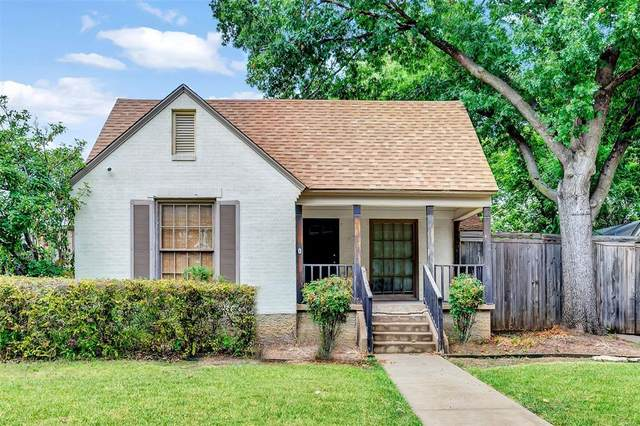 2707 Burlington Boulevard, Dallas, TX 75211 (MLS #14639151) :: Real Estate By Design