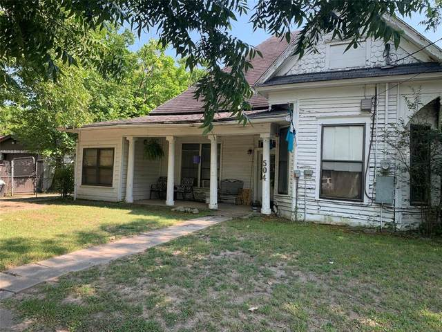 504 E College Street, Terrell, TX 75160 (#14639202) :: Homes By Lainie Real Estate Group